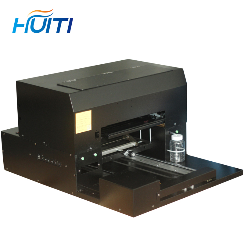 Gift Box Tea Can Phone Case Embossed Pattern Processing UV Printing A3 Small Uv Flatbed Printer 8 Color Machine