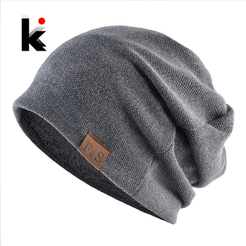 Winter Bonnet Hat For Men And Women Fashion Warm Solid Color Skullies Beanies Spring Casual Turban Hats Hip Hop Velvet Beanies 1