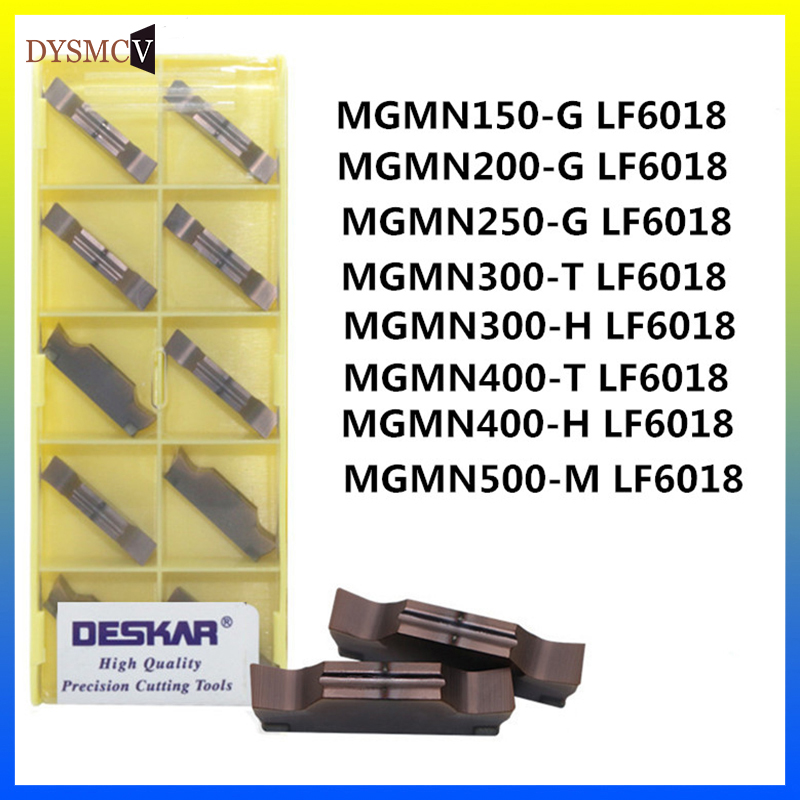 10P DCMT070204-MV LF6018 CNC Carbide turning inserts for stainless steel