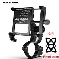 Supporto per telefono per bici telefono in alluminio Suporte supporto per cellulare per cellulare supporto per Clip per manubrio per moto accessori per 4