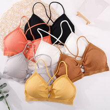 Lingerie Bra Bustier Crop-Tops Bralette Underwear Our-Padded-Bra Strapy Push-Up Colod