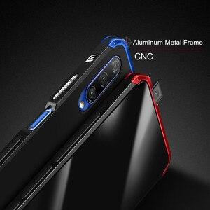 Image 4 - Luksusowe, odporne na wstrząsy pancerz metalowa obudowa Case dla Huawei Honor 9X 9X PRO guma pełna ochronna powrót Coque dla Huawei honor 9x 9x pro