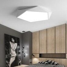 Creative Geometric Art LED โคมไฟเพดานโคมไฟสำหรับห้องนั่งเล่นโคมไฟศึกษา Corridor ระเบียงโคมไฟเพดาน