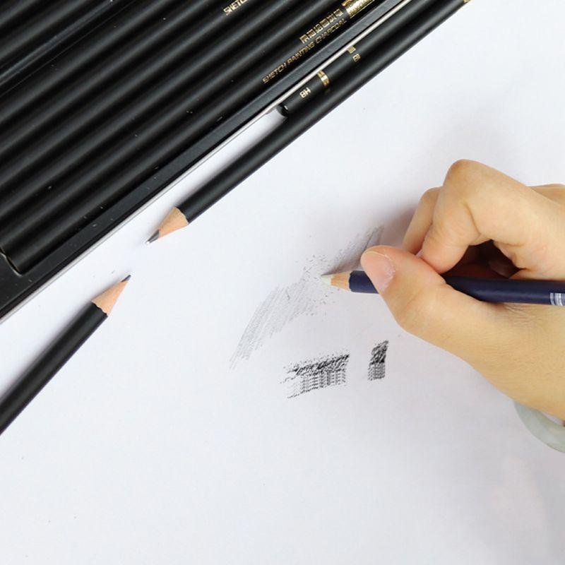1pcs Highlight Rubber Design Eraser Pencil High Precision Drawing Pen Modeling J6PB
