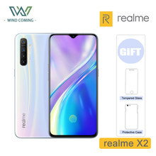 realme X2 Global Version CN X 2 Moblie Phone Snapdragon 730G 64MP Quad Camera 6.4'' NFC Cellphone 30W VOOC Fast Charger(China)