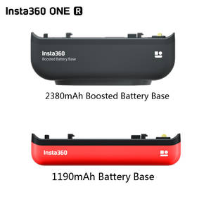 Battery-Base Camera Boosted Edition Insta360 R for All-Mod 2380mah ONE Original
