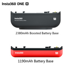 2380mAh Original Insta360 ONE R Boosted Battery Base /1190mAh Battery Base For Insta360 R All Mod Edition Camera