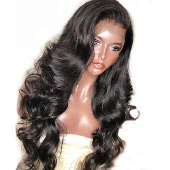 250 Density Lace Front Human Hair Wigs For Women Black Body Wave 13x6 Lace Front Wig Brazilian Wig Pre Plucked Remy - DISCOUNT ITEM  40% OFF All Category