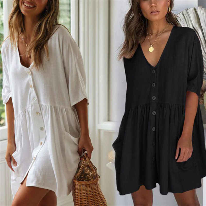 Pantai Saida De Praia Kapas Beach Cover Up Kaftan Beach Pareos De Playa Mujer Renda Bikini Cover-Up baju Renang Menutupi # Q771