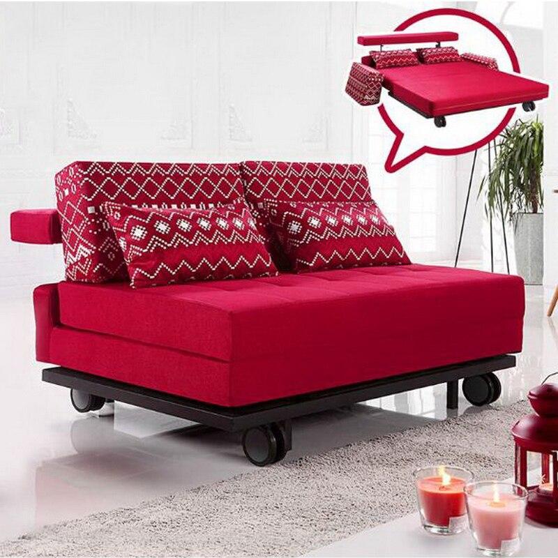 260305/1.45 M Multi-functional Sofa / Foldable Double-use Sofa / High-foam Foam Sponge / High-quality Frame Structure