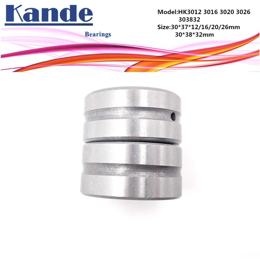 HK2030 20x26x30 mm HK202630 5 PCS Needle Roller Bearing Bearings 20*26*30