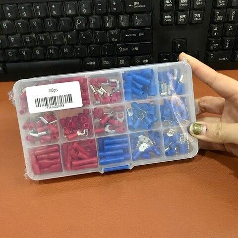 terminal fio conector caixa kit