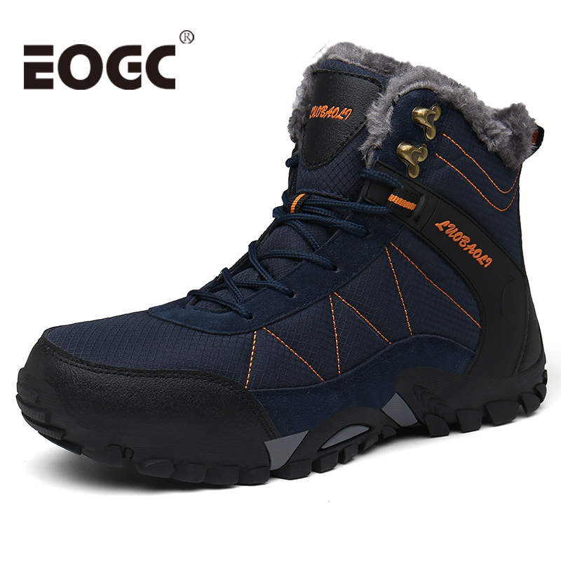 Plus Size 36-46 Winter Men Boots High Quality Winter Boots Shoes Men Keep Warm Waterproof Snow Boots Botas Hombre
