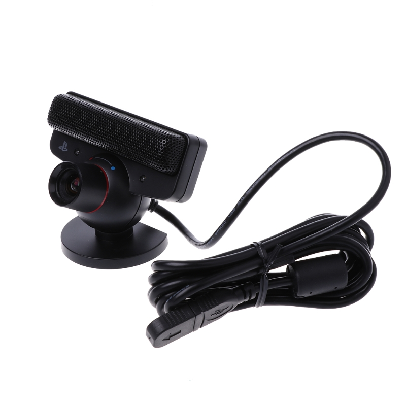 Eye Motion Sensor Camera With Microphone For Sony Playstation 3 PS3 Game System D08A