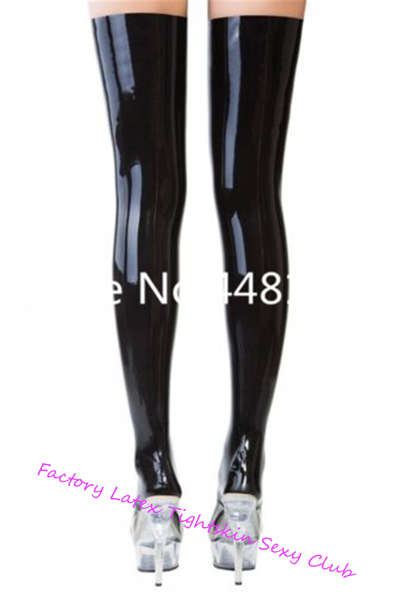 Latex Rubber Black Stocking  Halloween Tights For Women Club Party Wear  Halloween Socks Kids