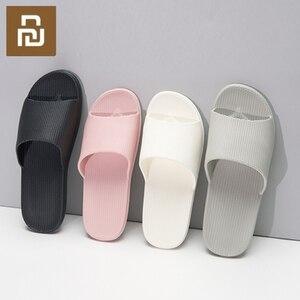 Image 1 - Neue Youpin Hause Pantoffel EVA Weiche Anti slip Slipper Flip Flops Sommer Männer Frauen Unisex Loafer für Smart Home