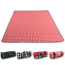 Fold Pad Soft Blanket Outdoor Folding Waterproof Blanket Camping Beach Plaid Picnic Mat