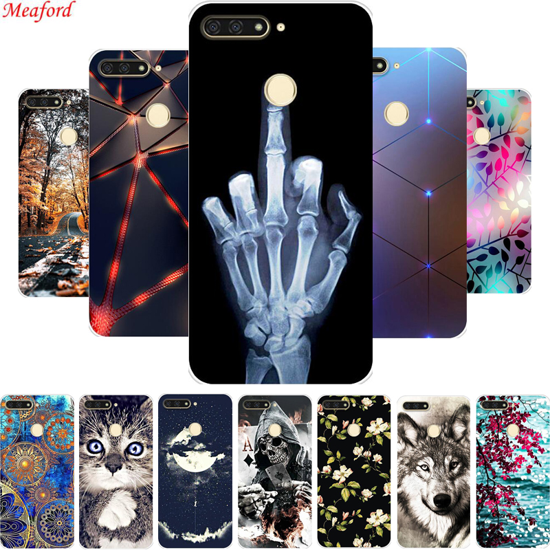 Y6 2018 Soft TPU Case 5 7 quot For Huawei Honor 7A Pro Case Silicone Cover Phone Case For Huawei Honor 7A Pro Coque A7 Pro Funda in Fitted Cases from Cellphones amp Telecommunications