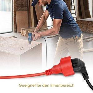 Image 5 - ขยายสายไฟสายไฟ5/10/20M EUซ็อกเก็ตไฟฟ้าปลั๊กปลั๊ก4000Wไฟฟ้าSchukoในร่มกลางแจ้งสำหรับคนงาน