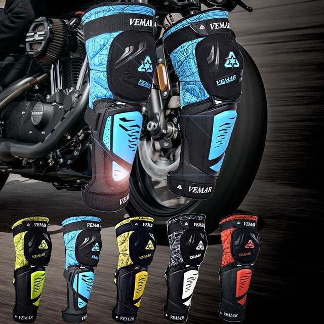 Vemar Motorcycle Knee Protection Motocross knee Protector Pads Guards Protective Gear motorcycle Knee pads rodilleras moto 6