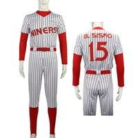 Star Deep Space Nine Treks Cosplay Costume Men 15 Sisko The Niners Baseball Outfit Pants Full Set New Halloween Costumes Party