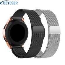Milanese Loop Bracelet Stainless Steel band For Samsung Galaxy Watch 42mm /Active Wristband Metal Strap Gear S2 Sport 20mm strap stainless steel watch band for samsung gear s4 sport smart watchband 20mm metal strap belt wrist loop bracelet black blue silver