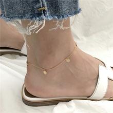 Женские ножные браслеты pofunuo из стерлингового серебра 925