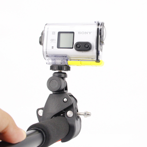 Image 5 - Tubular Snowmobiling Boating Motorcycle Bicycle Multi angle Clip For Sony RX0 FDR X3000 X1000 AS300 100V 50V Sport Action Camera