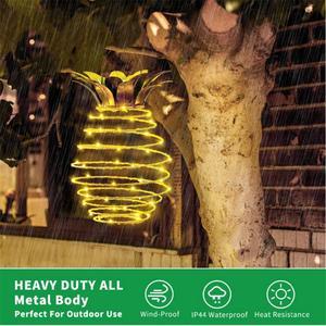 Solar Iron Pineapple Copper Wi