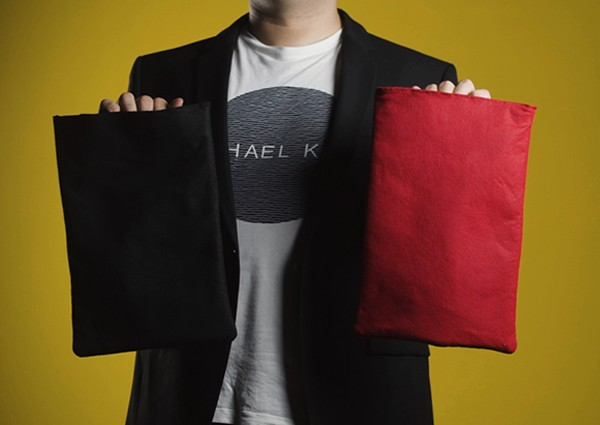 Invisibag (Black/Red Available) Magic Tricks Stage Close Up Magia Object Appear Vanish From Magie Bag Illusions Gimmick Props