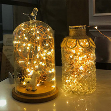 USB Powered 5M 8 Modes LED Copper Wire String Light with Remote Control for Festival Party Home Decor