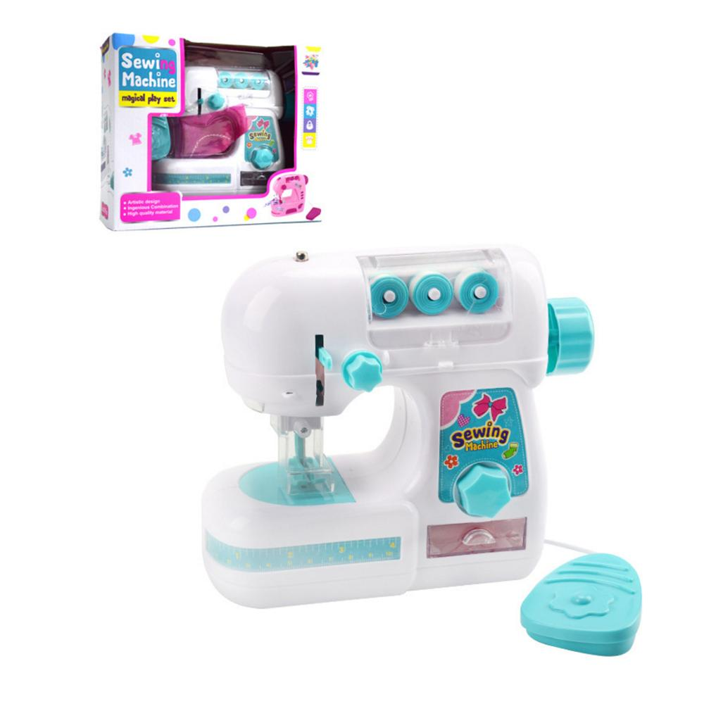 Simulation Mini Children Sewing Small Appliances Educational Toy Learning Gift