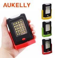 נייד LED עבודת פנס לפיד פנס עבודה אור Stand 23 LED 2 מצבי קמפינג שימושי מנורת בדיקה עם מגנט וו