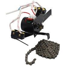 1 комплект инкубатор автоматический с автоматическим переворотом яиц системы 220 В 100 см цепь промышленный поворот плотные яйца двигатель с