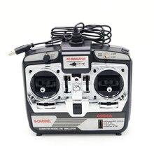JTL-0904A 6CH RC Flight Simulator поддержка Realflight G7 Phoenix 5,0 XTR пульт дистанционного управления Вертолет с фиксированным крылом Дрон(MODE1