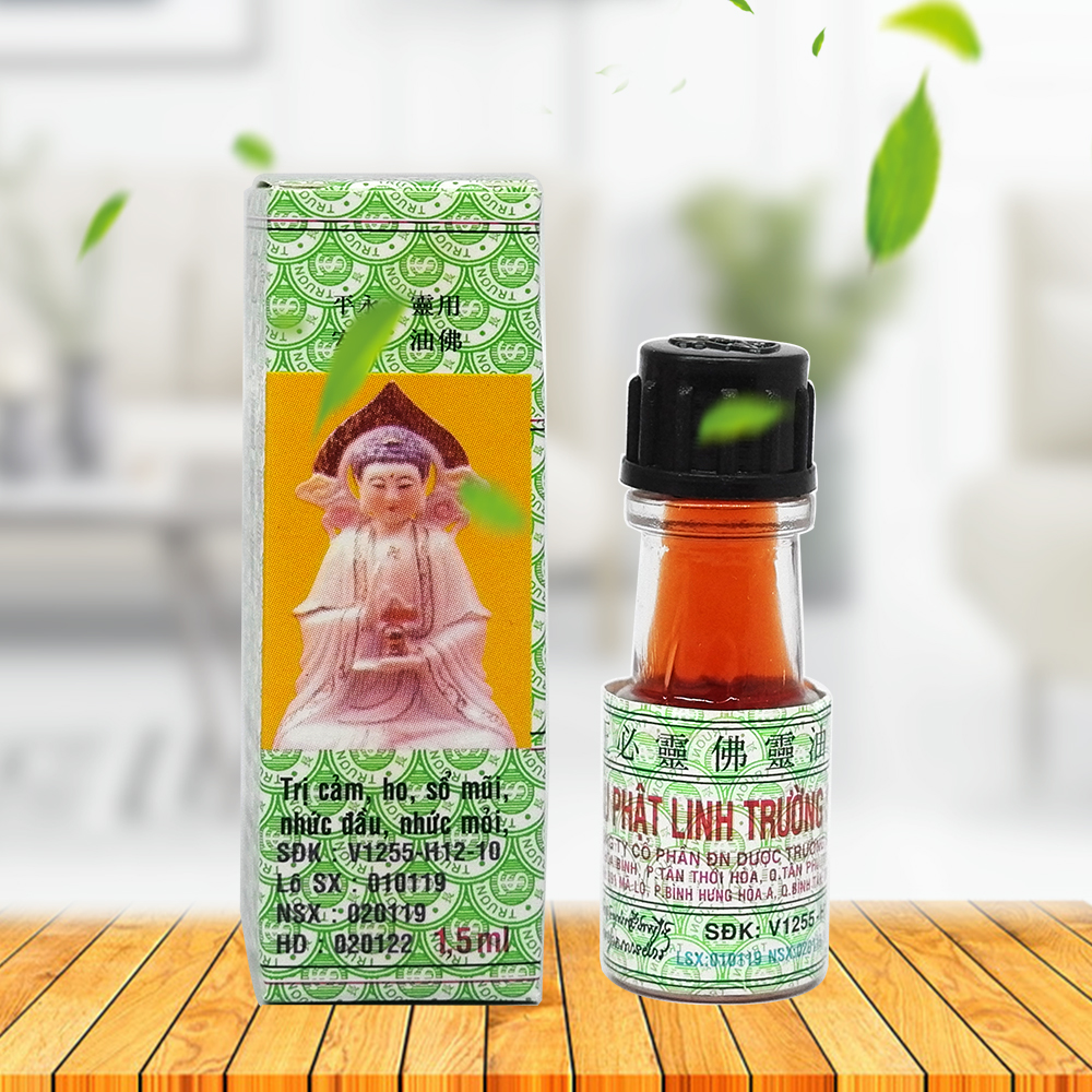Vietnam Buddha Oil 1.5ml For Headache Toothache Stomachache Dizziness Back Pain Active Oil Plaster Tiger Balm Ointment