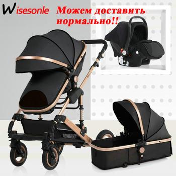 2020 nowy wózek dla dziecka high landscape 3 do 1 wózek dziecięcy double faced dzieci darmowa wysyłka w czterech sezonach w rosji tanie i dobre opinie Wisesonle 968b-2 Numer certyfikatu 13-18 M 4-6 M 7-9 M 10-12 M 0-3 M 2009012201375155 12 kg 5 kg 11 kg 7 kg 8 kg 9 kg 10 kg