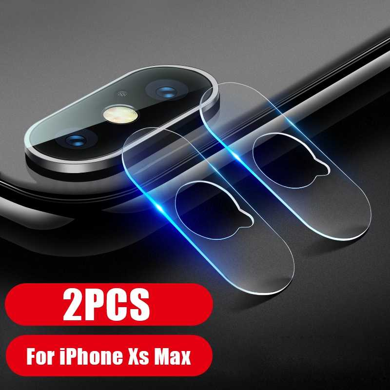 2PCS Phone Back Camera Film For iPhone XS X XR XS Max 7 8 Camera Screen Lens Protective Flim For iphone 7 8 Plus XR Glass