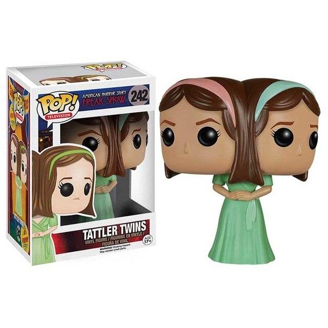 FUNKO POP American Horror Story: Freak Show Clown 243# Bette and Dot Pepper Elsa Vinyl Action Figure Toys Models for Kids Gifts 4