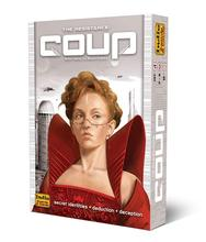 цена на 2019 high quality coup game Full English Version for party family board game cards game