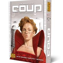 Coup-Game High-Quality Party Family Full-English-Version