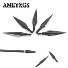 6/12pcs Archery 140Gr Traditional Broadheads Arrowheads High-Carbon Steel Spiral Hunting Shooting  Bow And Arrow Accessories
