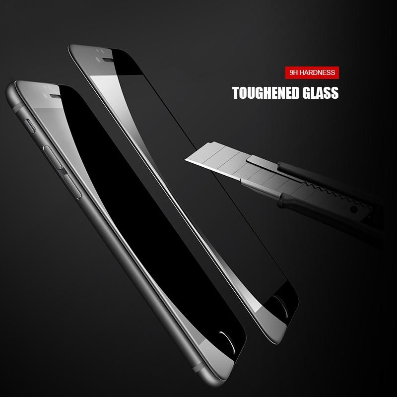9D Piena Copertura In Vetro Temperato Per il iPhone 8 7 6 6S Plus 5 5S SE 2020 Protezione Dello Schermo su iPhone 11 Pro XS Max X XR Pellicola Protettiva 2