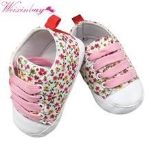 Baby shoes lovely Lace-Up sneakers boys girls infant toddler