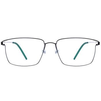 Large Glasses Frames | Viodream Titanium Alloy Large Frames Screwless Ultra Light Spectacle Handmade Prescription Optical Glasses Frame De Oculos