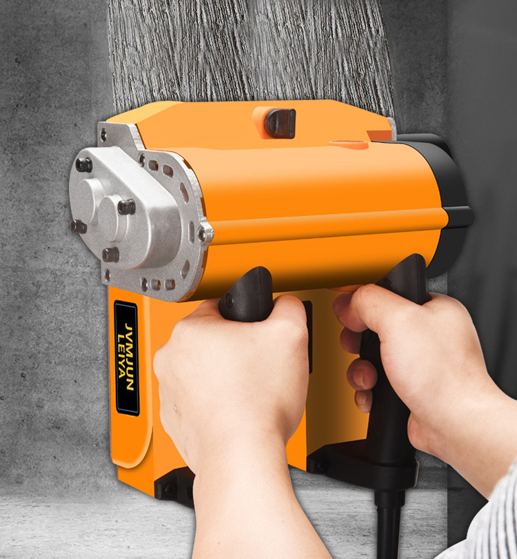 220V 2000W Electric Wall Chaser Groove Cutting Machine Wall Slotting Machine Concrete Planer