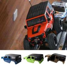 313mm Wheelbase Body Car Shell for 1/10 RC Crawler jeep Cherokee Wrangle Axial SCX10 & SCX10 II 90046 90047(China)