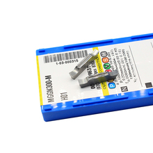 10pcs MGGN300 M H01 ตัดใบมีดสล็อตสำหรับชิ้นส่วนเหล็กสแตนเลส MGGN300 เหล็กหล่อใบมีดแทรก