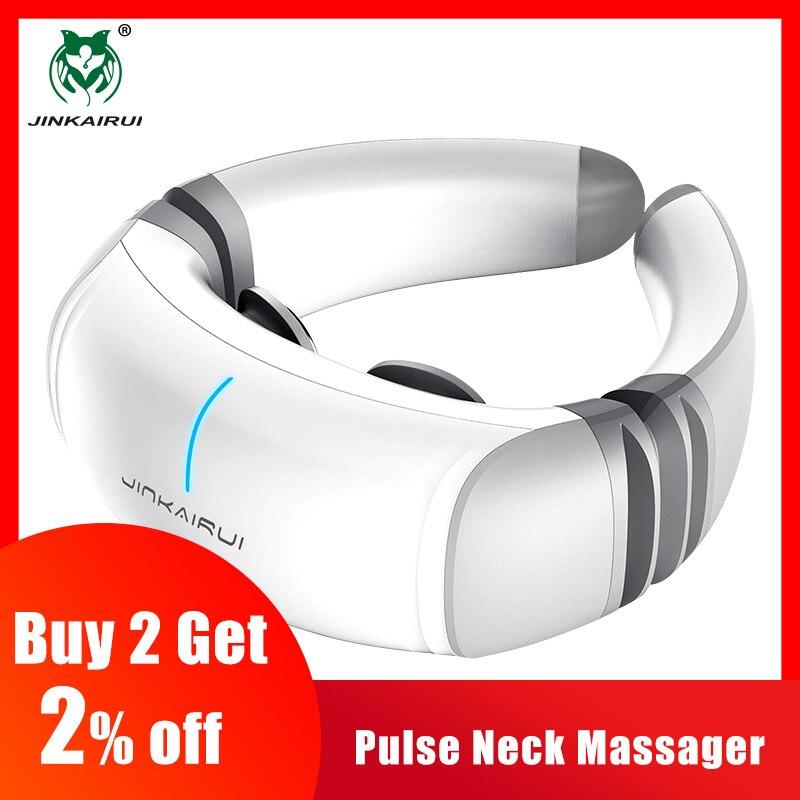 Impuls elektryczny szyi ogrzewanie na podczerwień masażu kręgu szyjnego pod wpływem impulsu akupunktura magnetyczne ulgę w bólu elektro stymulacji w Zabiegi relaksacyjne od Uroda i zdrowie na  Grupa 1