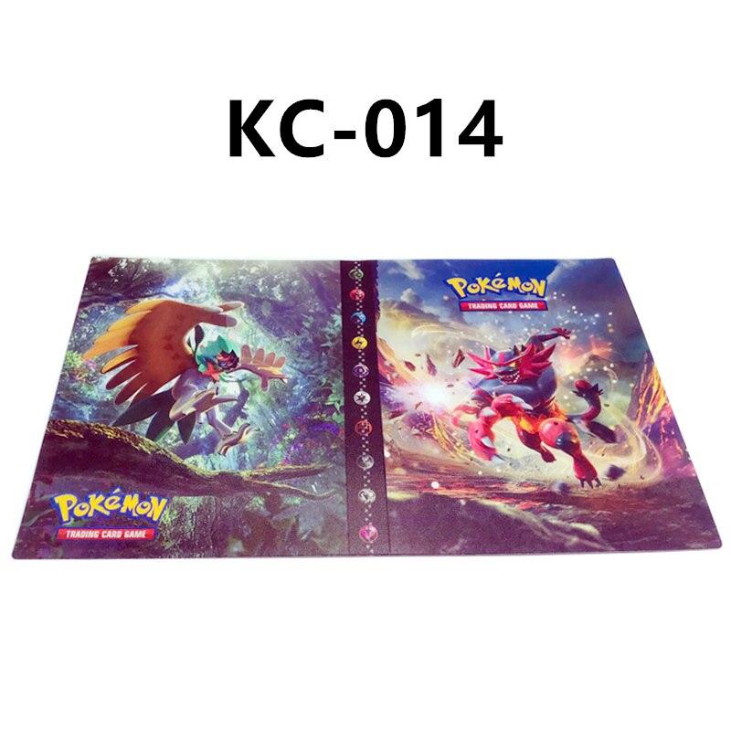 24 стиля Pokemon Cards альбом книга мультфильм аниме Карманный Монстр Пикачу 240 шт держатель альбомная игрушка для детей подарок - Цвет: KC-014